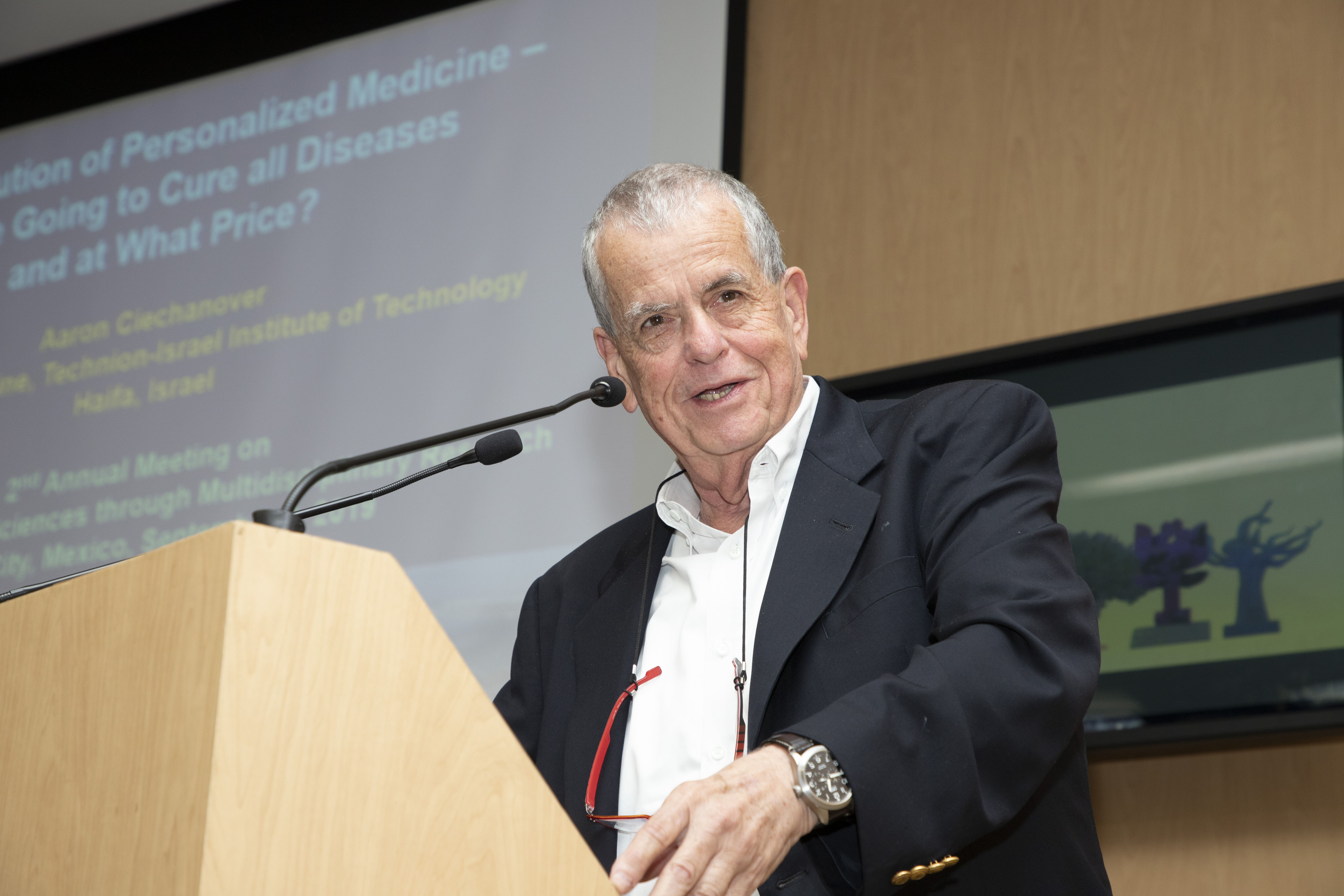 Premio Nobel de Química y científicos israelíes vinieron al 2º simposio médico México– Israel en la UNAM
