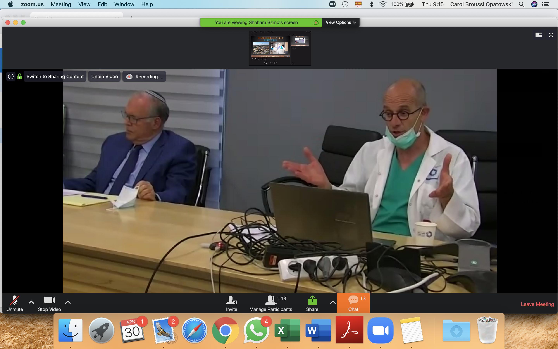 Asesoría de SZMC a médicos mexicanos sobre el COVID-19
